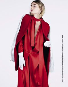 Grazie France October 2014 | Hanna Verhees by Naomi Yang [Editorial]