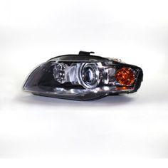 TYC 20-6954-00 | 2007 Audi A4 Chrome/Clear HID Headlights for Coupe/Sedan/Hatchback/Wagon Hid Headlights, Audi A4, Chrome, Car, Automobile, Cars