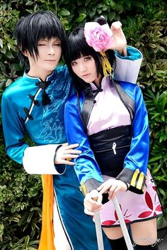 Lau & Ran Mao(Black Butler) | NearRoCasu - WorldCosplay