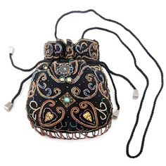 flair mix famously with this unique drawstring evening shoulder bag ...