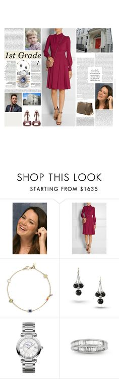 """""""Untitled #2957"""" by duchessq ❤ liked on Polyvore featuring Gucci, Oris, Loquet, Chopard and Mulberry"""