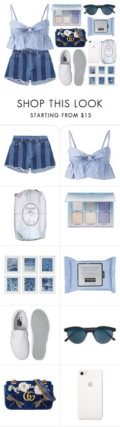 """""""tears turn to ecstasy"""" by cookieluvvv ❤ liked on Polyvore featuring Yves Saint Laurent, Maryam Nassir Zadeh, Fresh, Anastasia Beverly Hills, Williams-Sonoma, Vans, Oliver Peoples, Gucci and np"""
