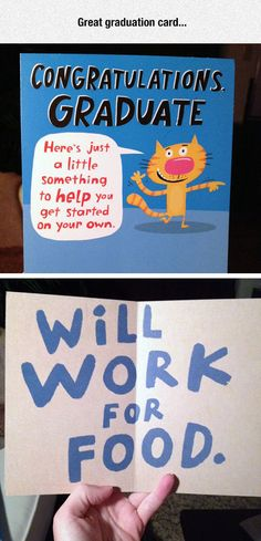 As someone due to graduate this summer, I can see how helpful this card might be. After all, student loans don't pay themselves! Ha! Ha-ha! Ha... ;_;