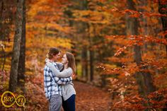 Sara & Will's fall engagement in Washington's Crossing, Pennsylvania by wedding photographer Pete Malone of Two17 Photo & Cinema. #engagement, #engagementphotography, #engagementphotos, #phillyengagement, #fallengagement