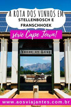 A Rota dos vinhos na Cidade do Cabo nunca esteve tão em alta.  A #ÁfricadoSul é cada vez mais famosa pelos seus #vinhos e o país está entre os 10 maiores produtores do mundo!  São cerca de 350 vinícolas no país e aproximadamente 200 delas estão na chamada rota do vinho de #CapeTown, em #Stellenbosch e #Franschhoek, pertinho de #CidadeDoCabo.  Hoje vou mostrar como foi meu passeio com a Franschhoek Wine Tram em detalhes, além de outras sugestões de roteiros de vinhos!