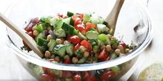The best chickpea salad ever - Recipes - My Fork - The best chickpea salad ever – Recipes – My Fork - Cooking Chef, Cooking Recipes, Healthy Recipes, Summer Recipes, Fall Recipes, Chickpea Salad Recipes, Smoothie Recipes, Breakfast Recipes, Clean Eating