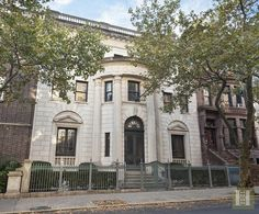 The Tracy Mansion, 105 8th Avenue, Park Slope, Brooklyn, NY.  The ultimate trophy home in Brooklyn, the pinnacle of distinction and spacious grandeur.
