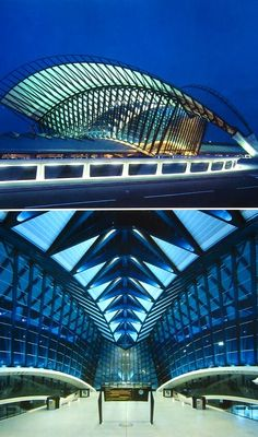 Curious Places: Lyons-satolas TGV station (Lyons / France)