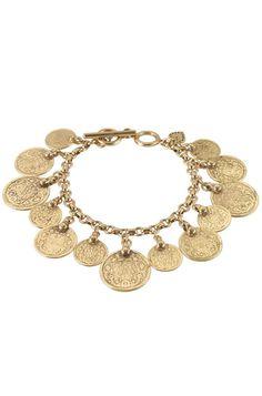Stella & Dot - Rio Coin Bracelet
