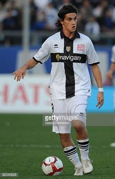 Davide Lanzafame of Parma FC in action during the Serie A match between Atalanta BC and Parma FC at Stadio Atleti Azzurri d'Italia on October 25 2009...