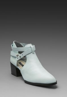 Senso. The Bridal Collective Blog: cut-out boots for brides.