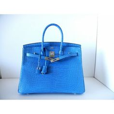 white birkin - MAGICAL \u0026amp; ONLY ON JF HERMES BIRKIN BAG 35cm BLUE BRIGHTON PORO PHW ...
