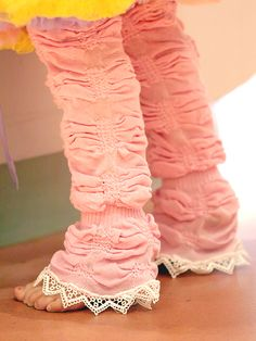 Vintage Lace Trim Legruffles. Don't even know what to say. I wish I was 5.