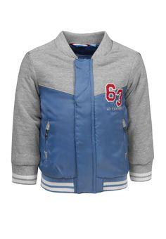 lief! lifestyle zomercollectie 2018 SS18 jongensjas zomerjas blauw grijs bomberjas
