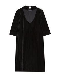 Robe velours choker - Robes - Vêtements - Femme - PULL&BEAR France