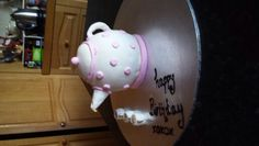 teapot cake for my mums birthday