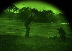 Free golf via nightvision googles