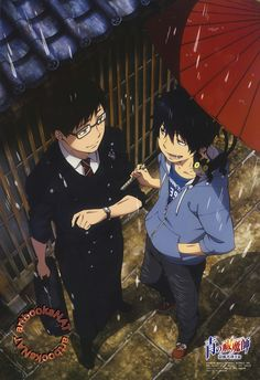 Blue Exorcist Poster art official    Yukio And Rin / #anime