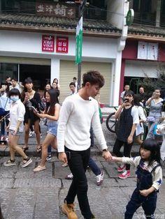 Tao Exo, Chanyeol, Kyungsoo, Panda Bebe, Huang Zi Tao, Kim Min Seok, Do Kyung Soo, Super Dad, Bts And Exo