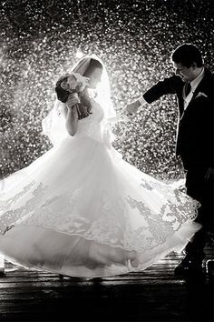 Casamento ao ar livre – E se chover? | Inspirações pra fotos
