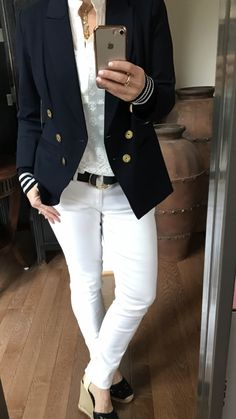 Love the cabi spring17 grand slam blazer,prudence top, slim bf jean & cinch it belt view/shop the current cabi collection: www.janismurphy.cabionline.com Instagram:janismurphy59