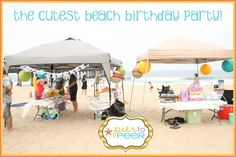 beach themed kids birthday party | beach-party