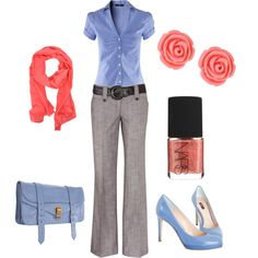 """Casual Thursday"" by blue-star-marie on Polyvore"