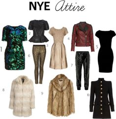 NYE Outfit Ideas.