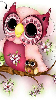Fondos de búhos Cellphone Wallpaper, Iphone Wallpaper, Cute Wallpapers, Wallpaper Backgrounds, Cute Owls Wallpaper, Owl Artwork, Owl Clip Art, Owl Cartoon, Owl Pictures