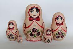 Matrioska Rosas Encantadas | Atelier Feito Pra Você | Elo7
