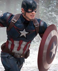 Chris Evans - Avengers: Age of Ultron Marvel Dc, Marvel Films, Marvel Heroes, Marvel Cinematic, The Avengers, Avengers Movies, Superhero Movies, Avengers Steve, Captain America Photos