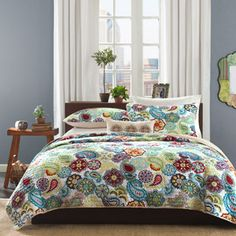 Home Essence Apartment Tula Quilt Set Walmart Full/Queen $69.99
