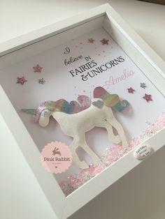 I Believe in Fairies & Unicorns Glitter Unicorn