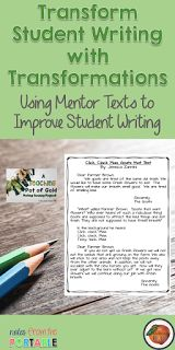The Primary Peach: A Teaching Pot of Gold: Transforming Student Writing
