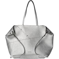 Calvin Klein Luna Medium Tote Shopper Ba (£100) ❤ liked on Polyvore featuring bags, handbags, tote bags, calvin klein tote bag, shopper tote handbags, shopper tote, shopper handbag and calvin klein tote