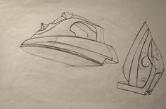 Tatsiana Artsemiuk (school of form) iron sketch