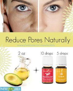 DIY Face Serum To Reduce Pores Naturally