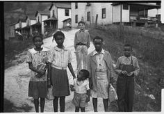 Ben Shahn. Omar, West Virginia. 1935 Oct. Library of Congress.