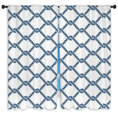 Marine Rope Knot Seamless Vector Pattern Custom Size Window Curtains #nauticalwindowcurtains #nauticaldrapes #nauticalwindowpanels #nauticalblockoutwindowcurtains #nauticalcustomsizewindowcurtains #nauticalvalances #nauticaltheme #nauticaldecorideas #visionbedding #customsize #personalized #unique #cool
