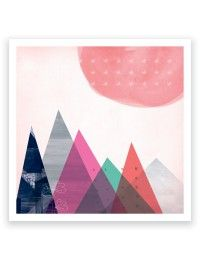 Sun Mountains Limited Edition Art Print Mara Girling Printspace