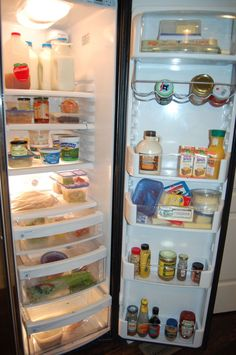 A look inside a whole foods fridge   #100daysofrealfood #wholefoods
