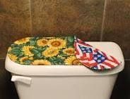 sunflower bathroom decor - Google Search
