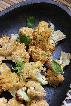 baked cauliflower recipe - vegan