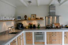 Keuken woonhuis Laren - door David Interieurbouw - ism Clairz