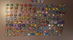 Pokemon 1st Gen 151 PART 2/3 Pixel Art perles Hama by YurekArt