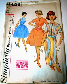 On a whim, I decided to do some trolling from vintage patterns on Craigslist. I stumbled across a garage sale listing including sewing patt. 60s Patterns, Kwik Sew Patterns, Simplicity Patterns, Vintage Patterns, Print Patterns, Vintage Fashion, Thankful, Sewing, 1960s