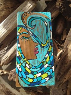 Swell Dream Eco Art by StonedGypsy on Etsy, $85.00: