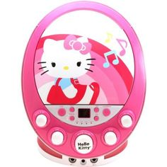 Hello Kitty CDG Karaoke Machine with Colorful Flashing Lights with Dual Microphone included and Displays Song Lyrics ** Check out this great product.Note:It is affiliate link to Amazon.