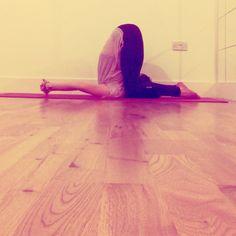 Karnapidasana | Ear Pressure Pose • Inversion Yoga Posture