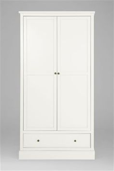 Buy Hove Double Wardrobe With Drawer from the Next UK online shop
